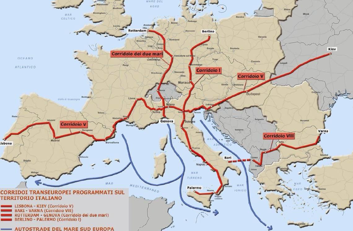 corridoi europei